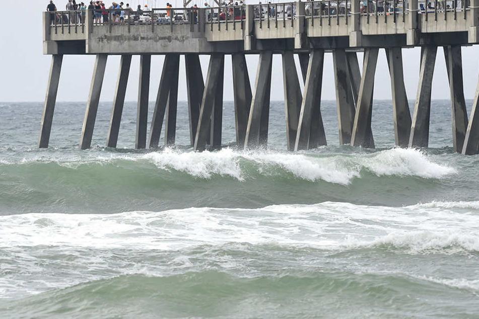 Mit Sturmfluten auf die Küste muss gerechnet werden.