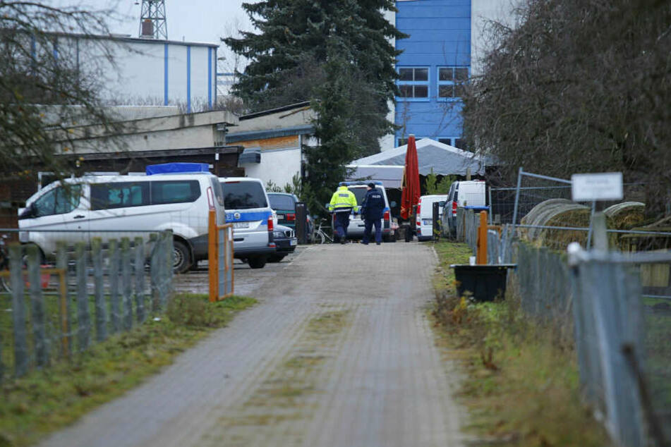 Am Morgen rückten dann Kripo-Beamte zur Untersuchung an.