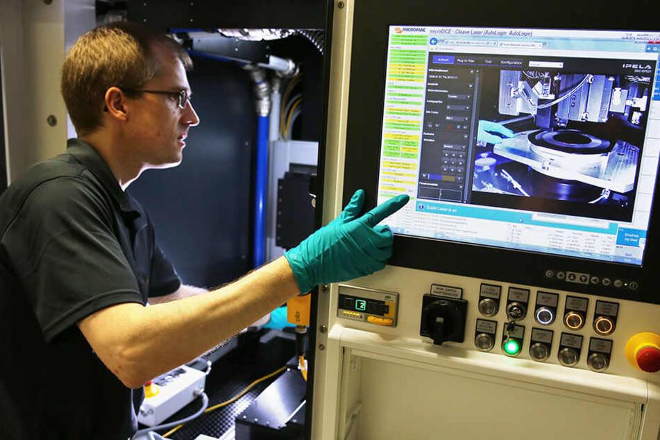 """Auch die Halbleiter-Firma """"3D Micromac"""" ist im Portal dabei, hat derzeit fünf Stellen im Angebot."""