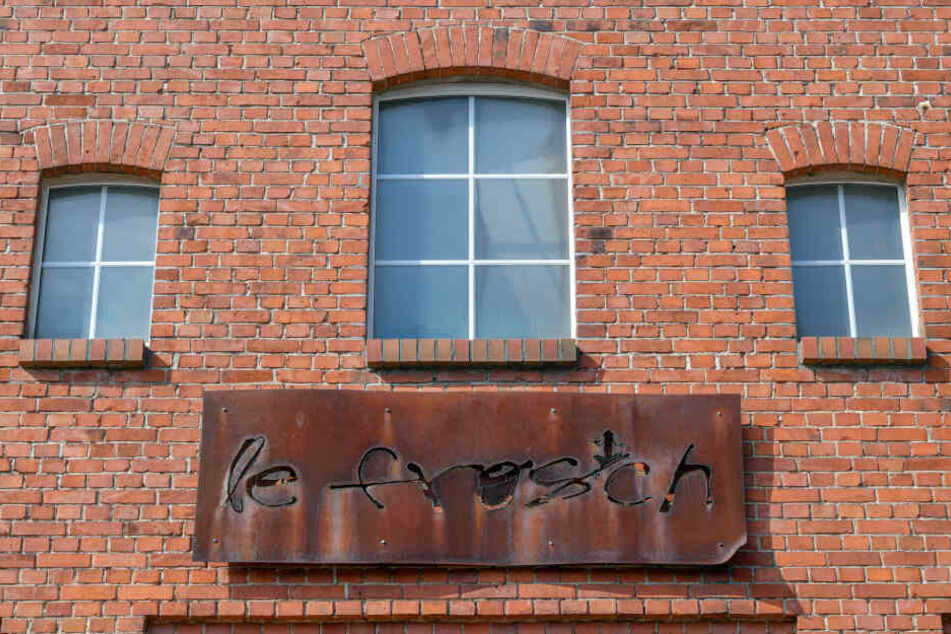 Die Fassade der Frankfurter Diskothek.
