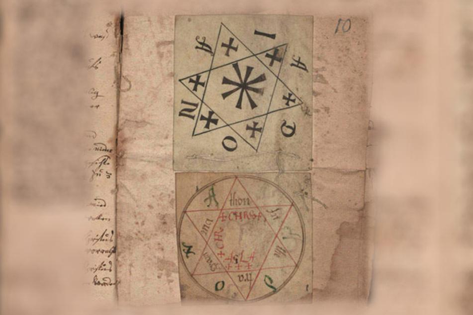 """Bei diesem Manuskript handelt es sich um ein """"Tractat vom Geister Beschweren zum Schatzgraben"""". (alles Originalschreibweise)."""