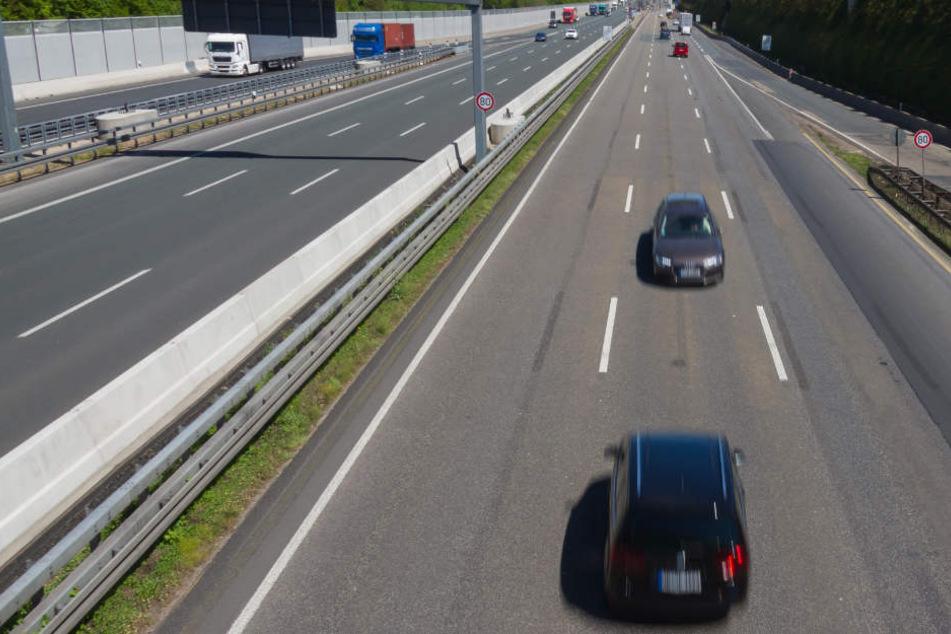 Mindestens 20 Autos kamen dem 43-jährigen Geisterfahrer entgegen. (Symbolbild)