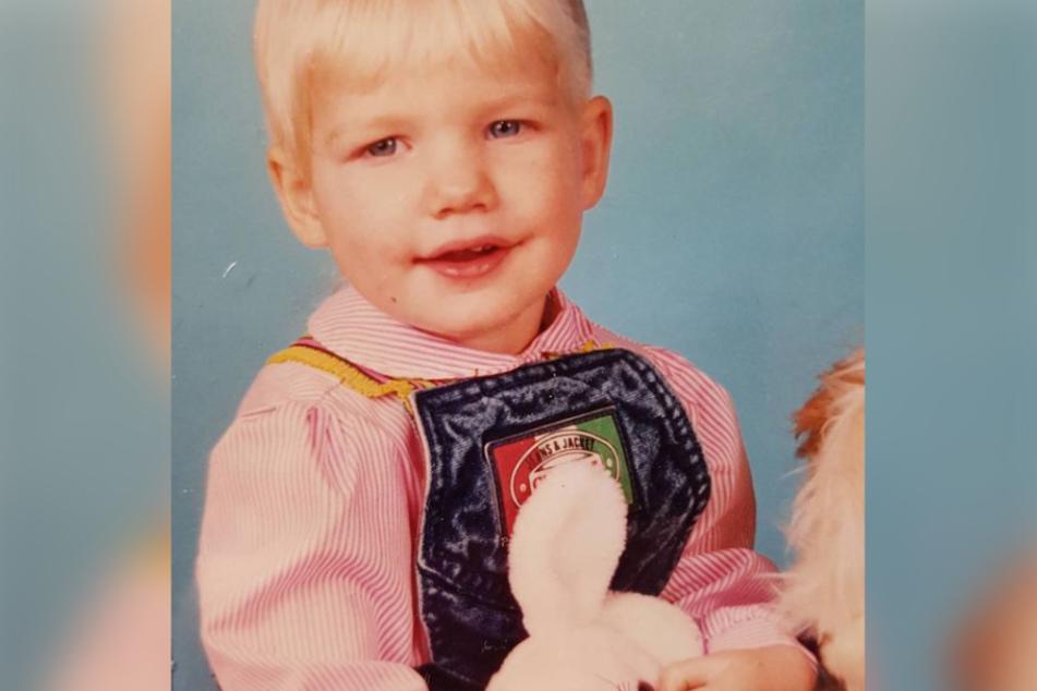 Kleiner Tipp: Ihre Tochter ist der Blondine wie aus dem Gesicht geschnitten.
