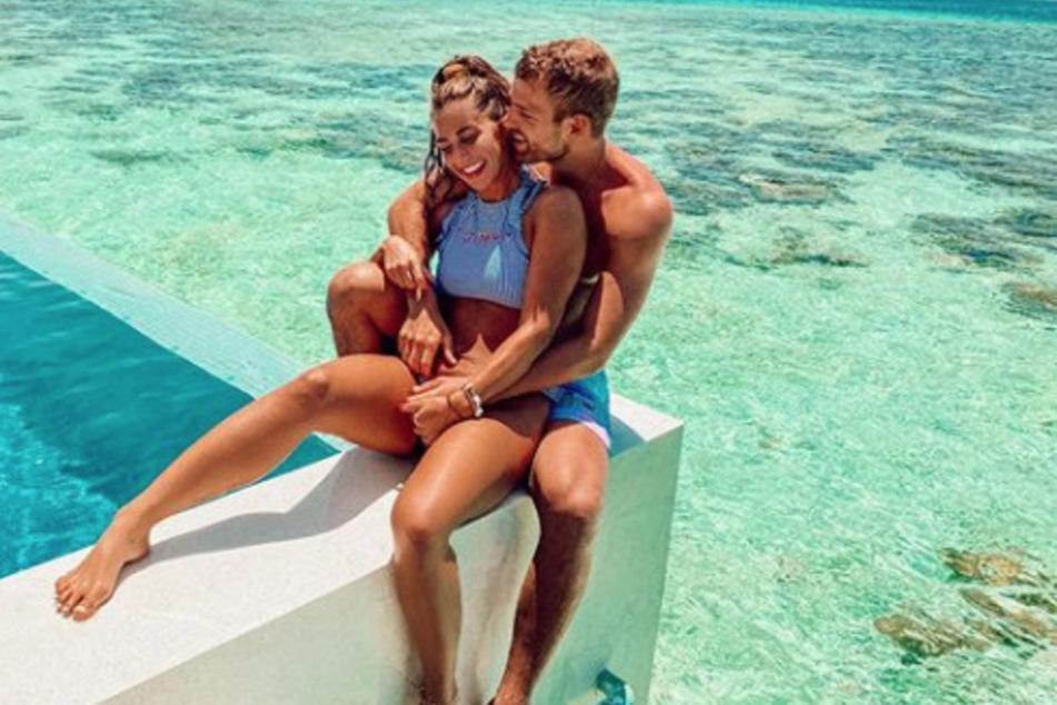 Sarah Lombardi (27) und Julian Büscher (27) haben gerade erst einen Traumurlaub auf den Malediven verbracht.