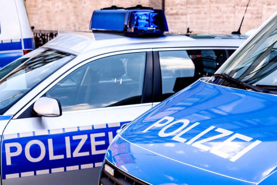 Mehrere Streifenwagen eilten zum Tatort. Der Staatsschutz hat den Fall übernommen (Symbolbild).