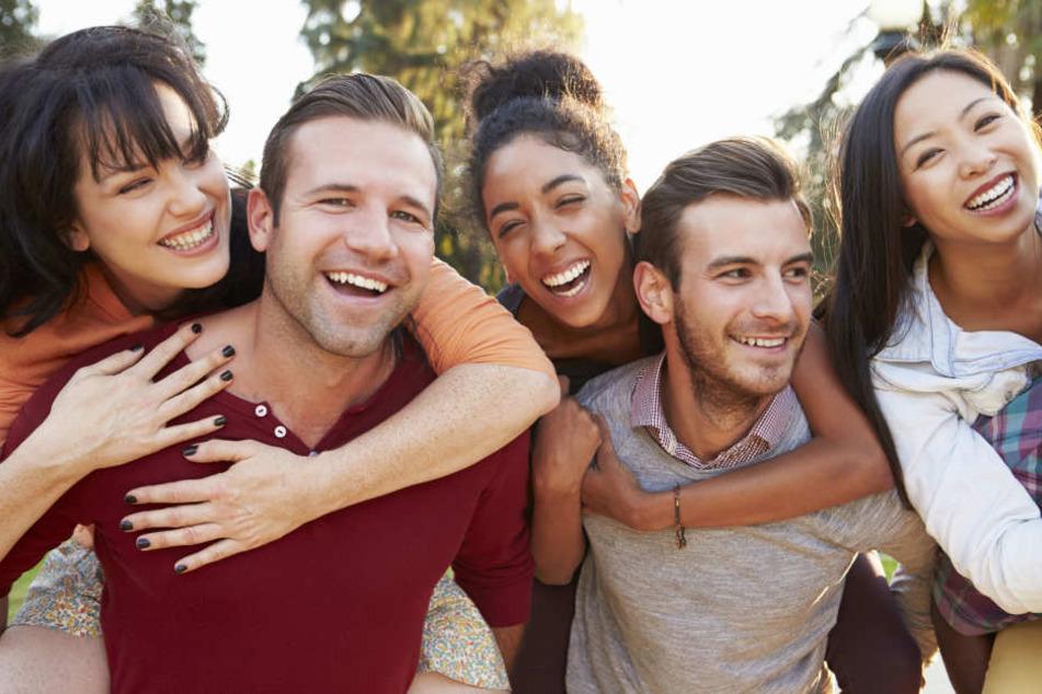 In Skandinavien sind die Menschen besonders glücklich. (Symbolbild)