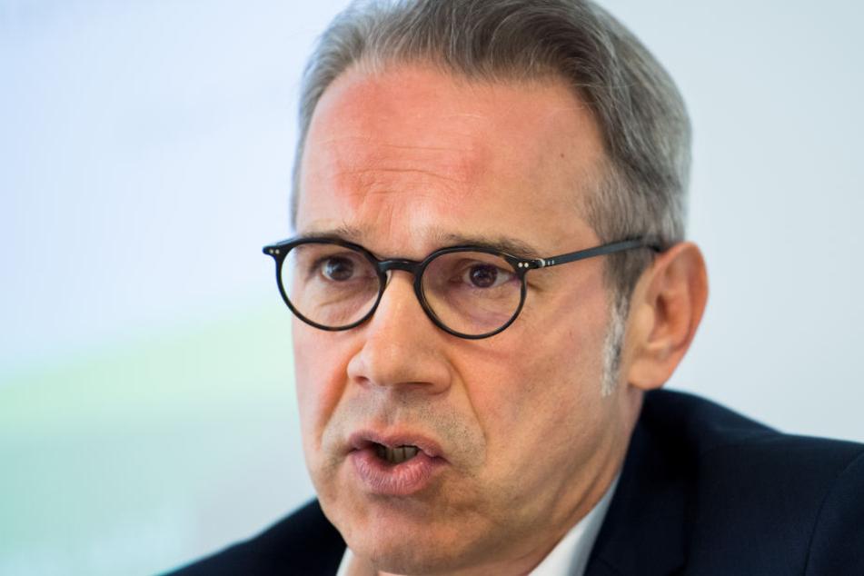 Georg Maier sprach sich auf der Konferenz der Innenminister zum Stopp aus.