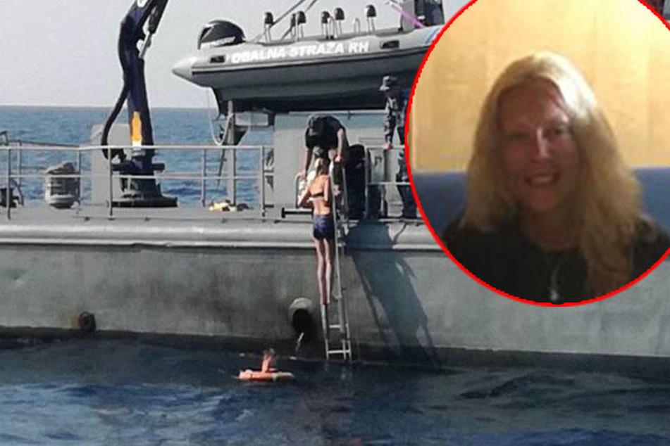 Zehn Stunden auf offenem Meer! Touristin überlebt Kreuzfahrt-Drama