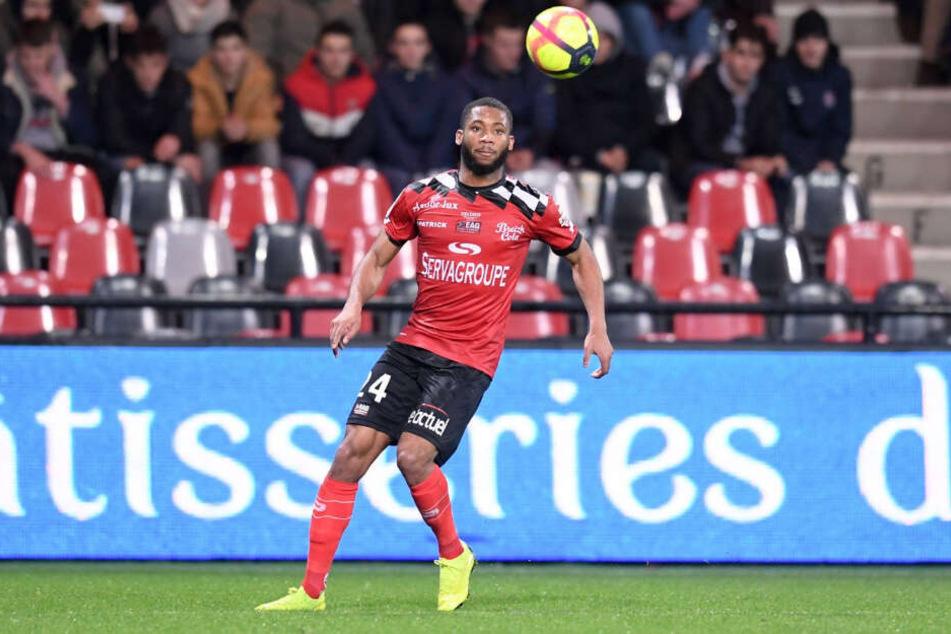 Ist er bald für den VfB Stuttgart am Ball? Frankreichs U-21-Nationalspieler Marcus Coco.