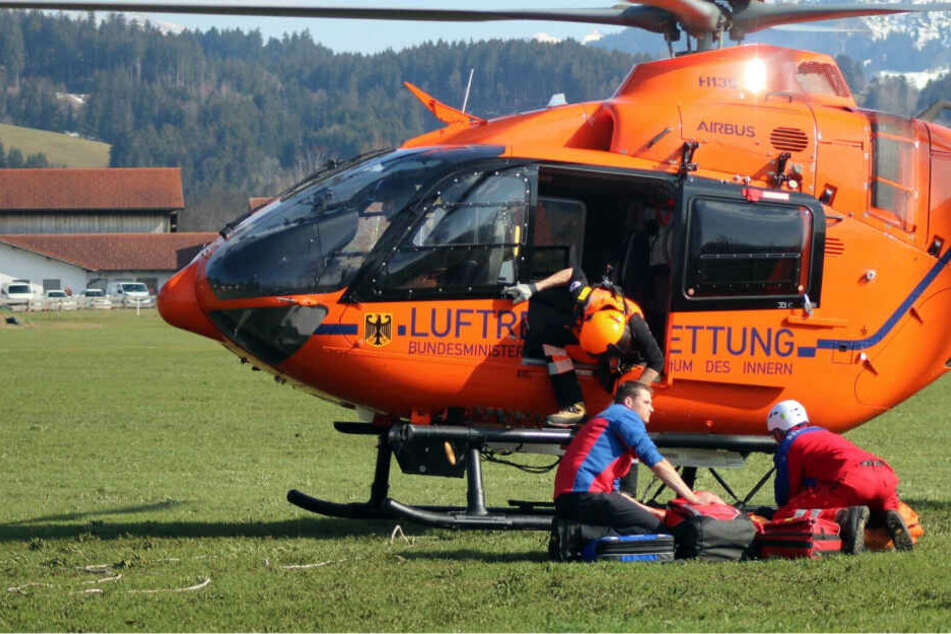 Bergsteiger stürzt 100 Meter in die Tiefe und stirbt