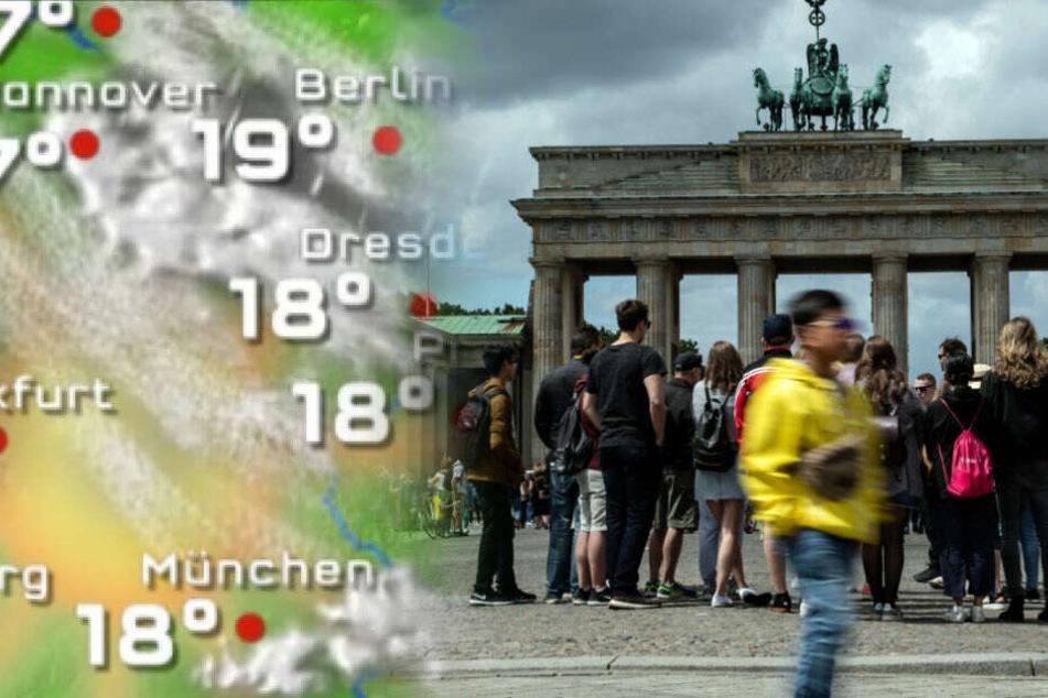Der Sommer legt in Berlin weiter ein Pause ein.
