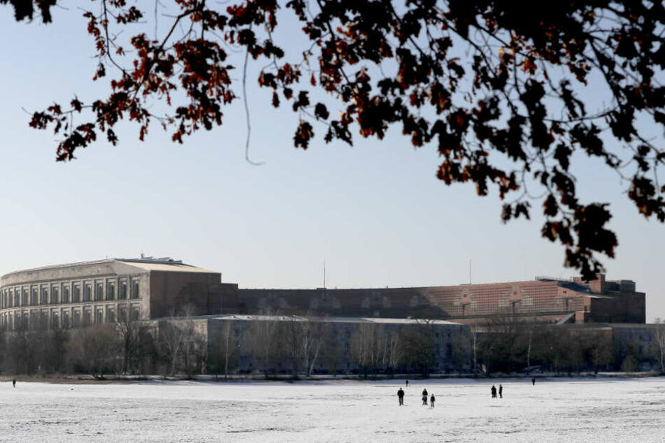 Die Kongresshalle auf dem ehemaligen Reichsparteitagsgelände in Nürnberg.