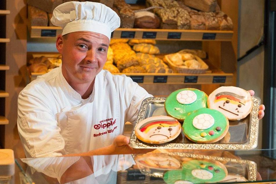 Bäckermeister Andreas Wippler (39) lässt seine Amerikaner nun weinen.