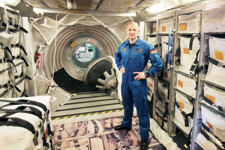 Rückblick 2014: Im Trainingszentrum in Köln trainierte Gerst bereits 2014 die Einsätze in nachgebauten ISS-Modulen. Auch für die jetzige Mission trainierte Gerst hier unzählige Male das Leben im Weltraum.