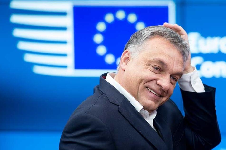 Ungarns Regierungschef Viktor Orban macht weiter Druck, um möglichst wenig Flüchtlinge aufnehmen zum müssen.