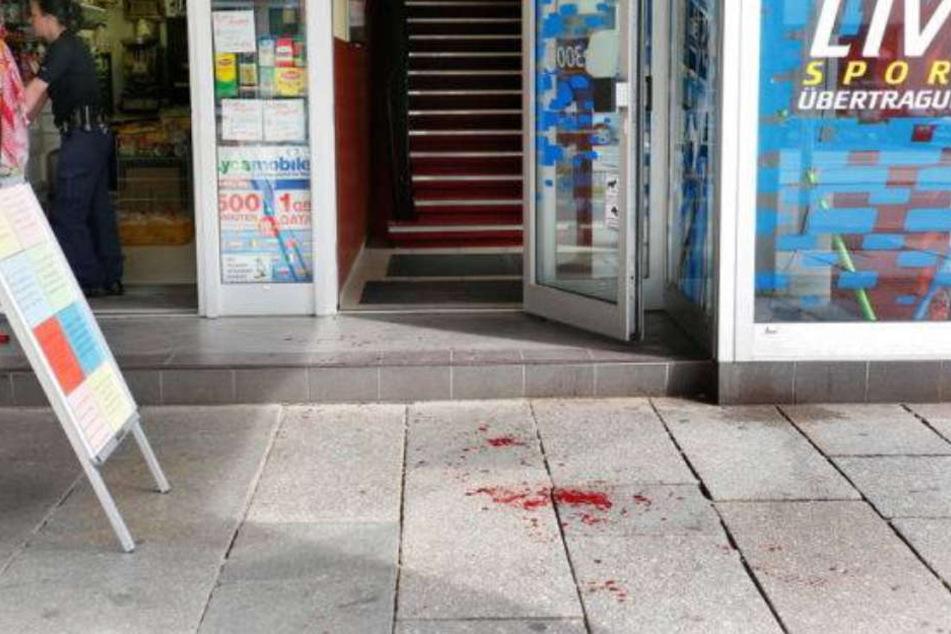 Auf der Straße der Nationen kam es zu der blutigen Auseinandersetzung.