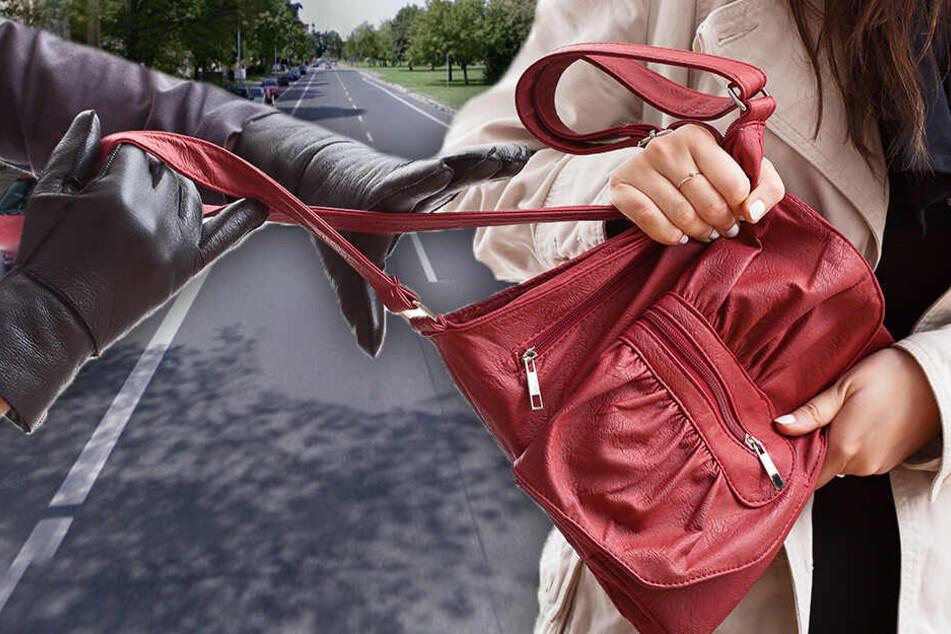 Neue Masche? Fieser Handtaschendieb auf Fahrrad raubt Omi aus