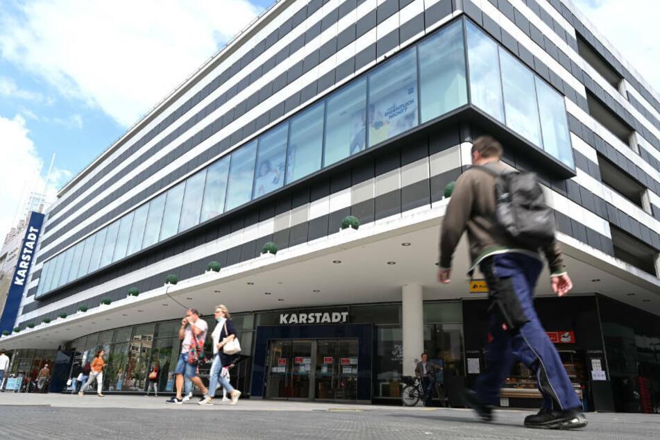 Auch die Karstadt-Filiale auf der Frankfurter Zeil wird geschlossen.