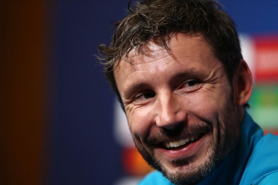 Ex-Bayern-Profi Mark van Bommel ist Cheftrainer bei der PSV Eindhoven.