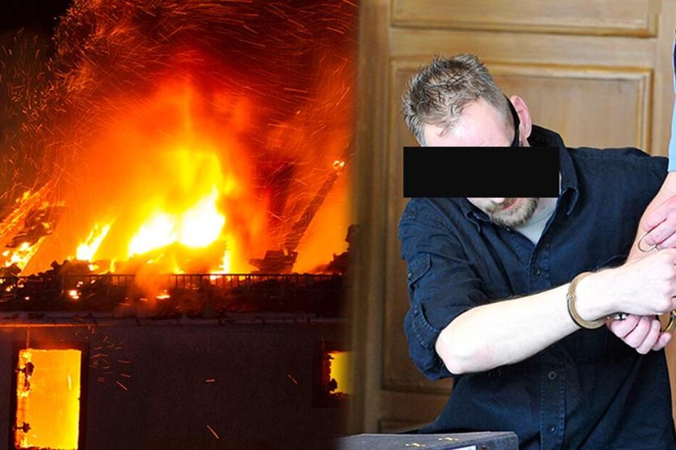 Brandstifter: Warum zündelt ein Bäcker immer wieder auf seinem eigenen Hof?