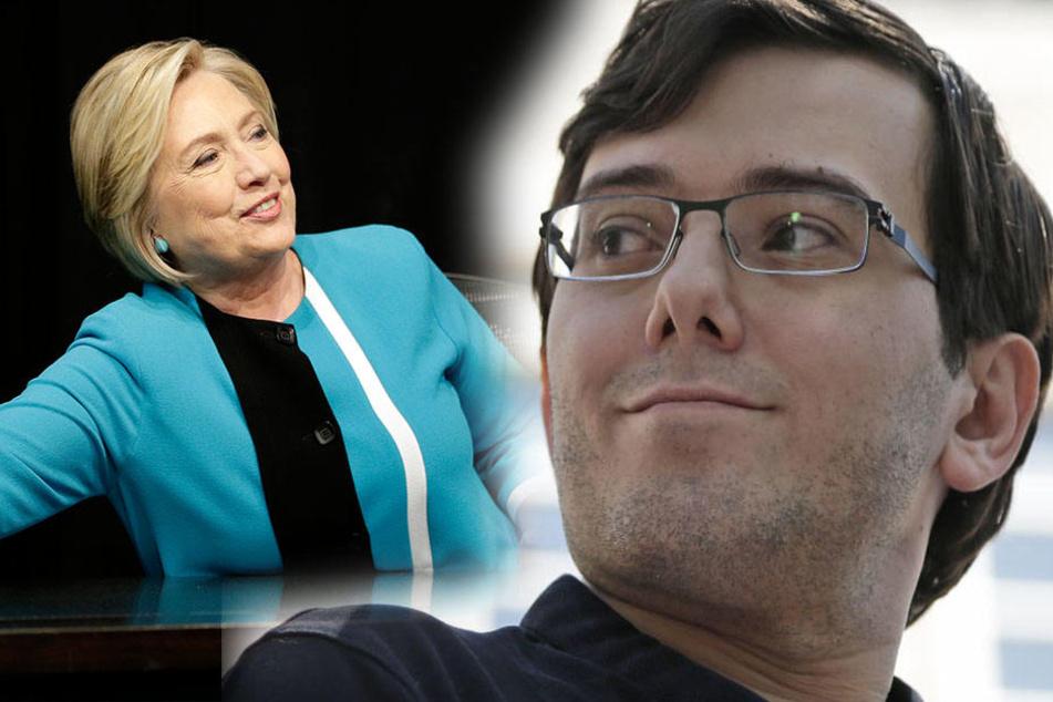 Haft, weil er Hillary Clinton ein Haar ausreißen lassen wollte