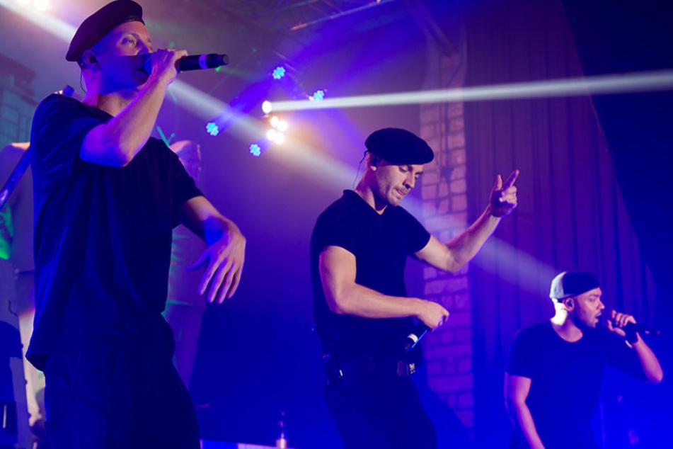 So kennen ihre Fans die drei Berliner eigentlich: Jetzt schlagen Nico (v.l.), Maxim und Tarek musikalisch neue Töne an.
