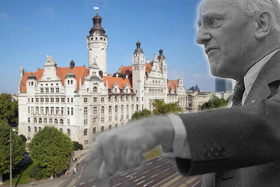 Erich Zeigner, der von 1945 bis 1949 Leipziger Oberbürgermeister war, fehlt in der Ahnengalerie im Neuen Rathaus.