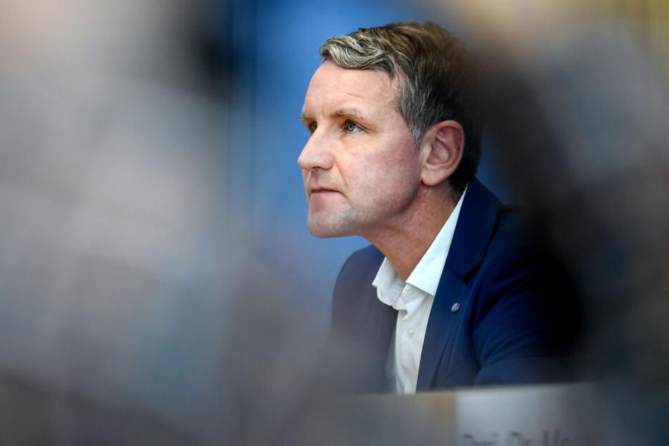 Björn Höcke ist Vorsitzender der AfD in Thüringen (Symbolbild).