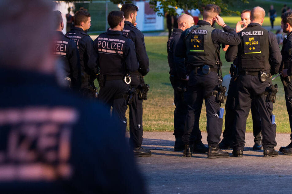 Die Polizei konnte die Männer nicht mehr antreffen. (Symbolbild)