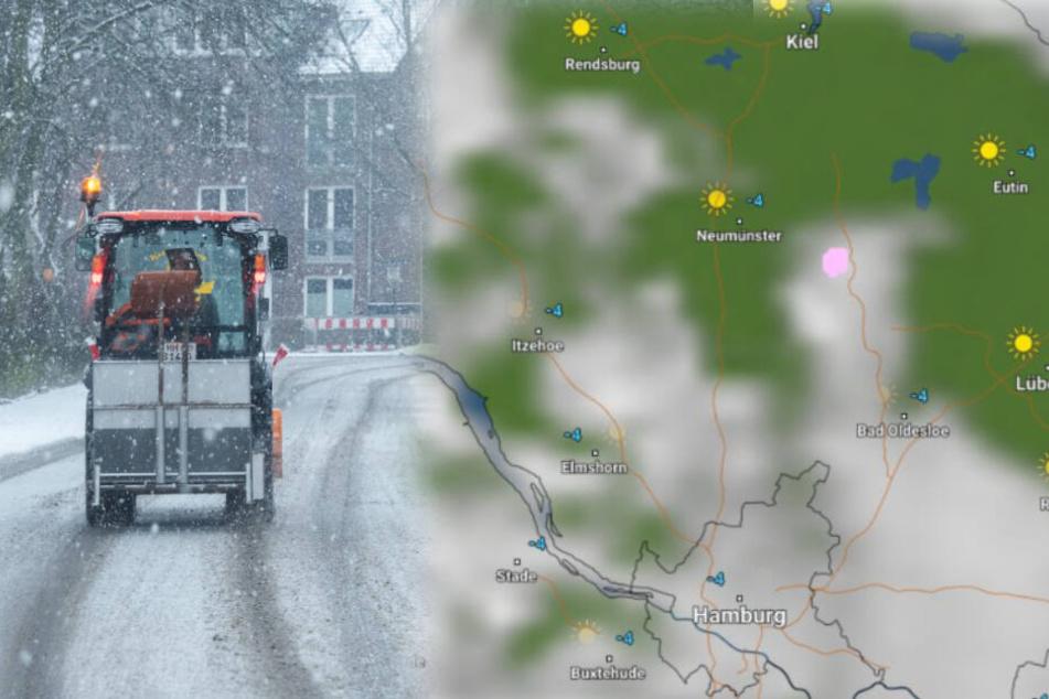 Aufgepasst! Schnee und Glätte bedrohen den Norden