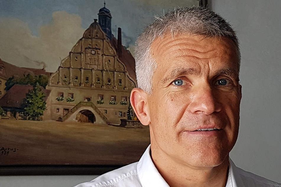 Matthias Berger, Oberbürgermeister von Grimma.