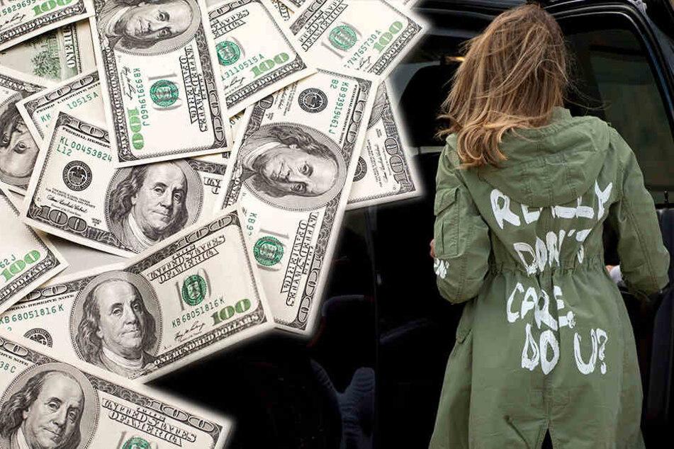 """Nach Skandal um First Lady: """"Mir egal""""-Jacke jetzt ein kleines Vermögen wert"""