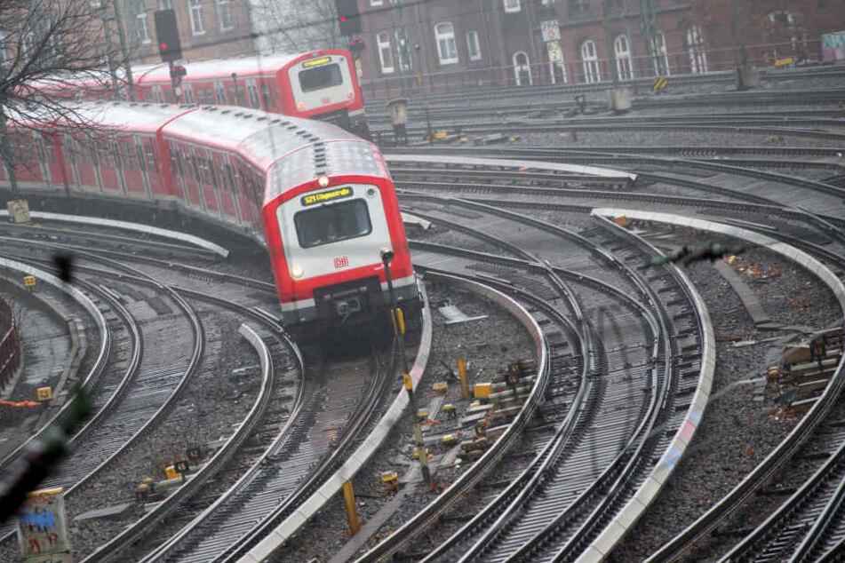 Die Tat ereignete sich in der Linie S3 auf der Fahrt zum Hauptbahnhof. (Symbolbild.)