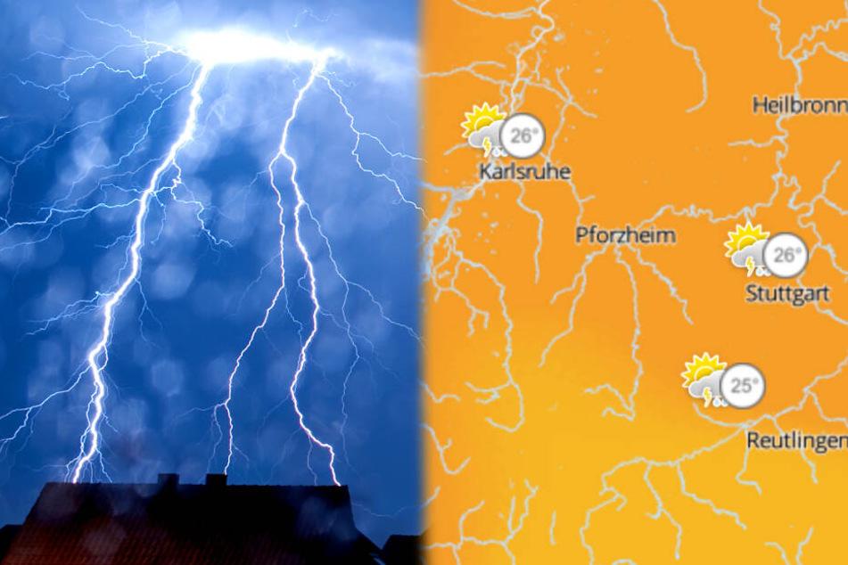 Es bleibt heiß, doch Vorsicht: Gewitter, Hagel und Orkanböen möglich