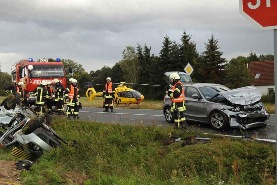 Im Juni 2016 meldete die Landesdirektion Sachsen, dass der Kreuzungsbereich durch einen Kreisverkehr entschärft werden soll. Passiert ist bislang nichts.