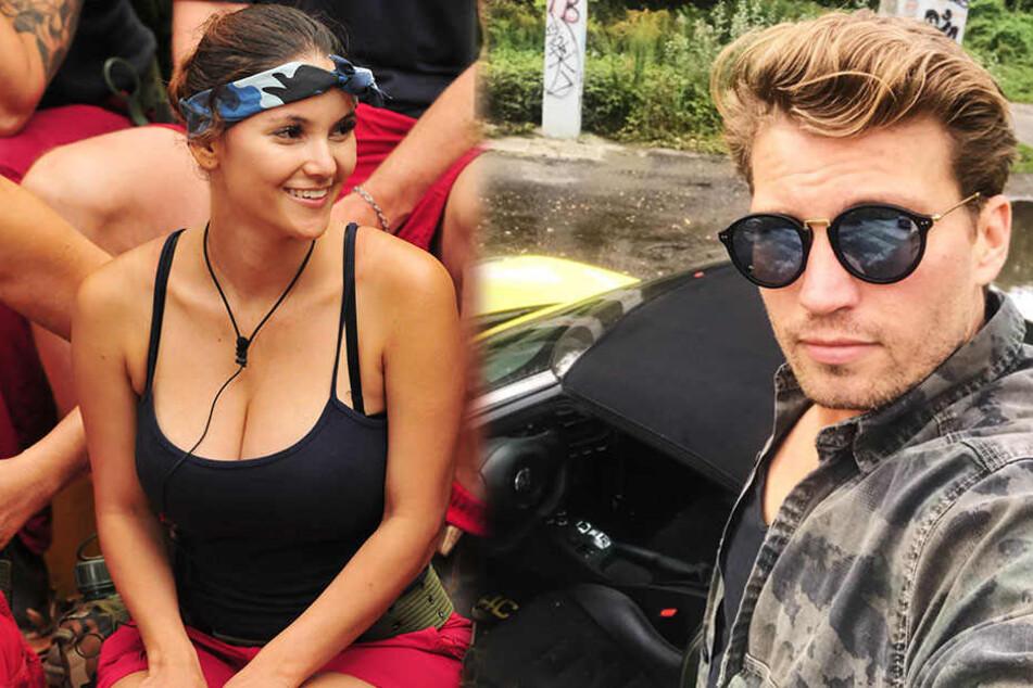 Schauspieler Raúl Richter ist ganz begeistert von Kattia Vides.