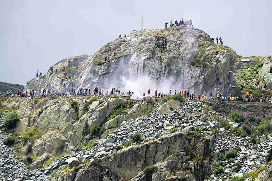 Die 29-Jährige fährt seit Jahren intensiv Rennrad, bezwang etwa den Col de la Croix de Fer (F.).