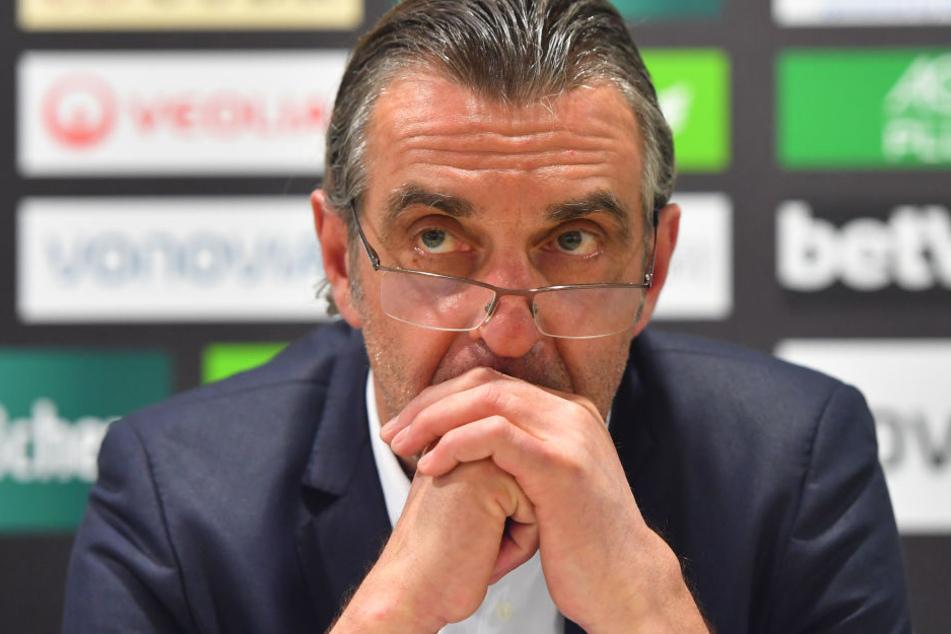 SGD-Sportchef Ralf Minge (56).