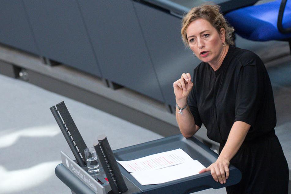 Caren Lay wurde von Kollegen aus der eigenen Partei sexistisch beleidigt.
