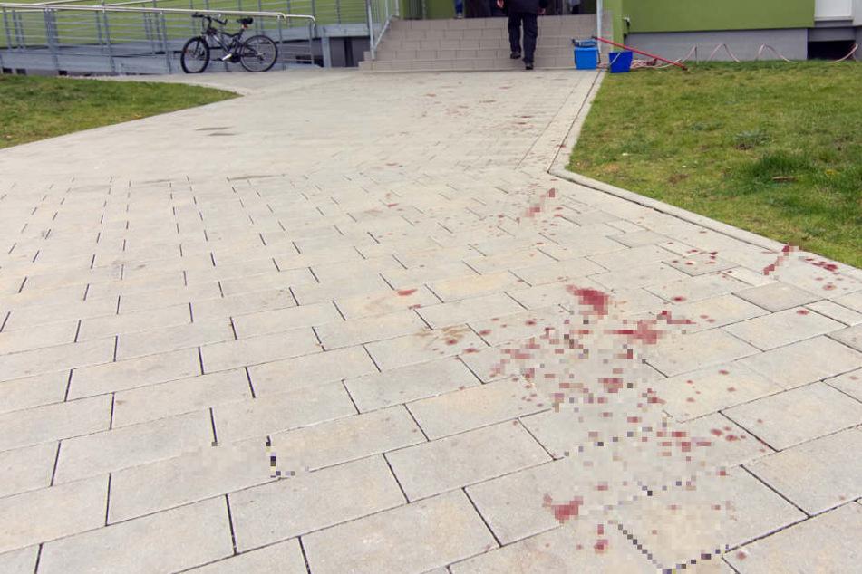 Mysteriöses Verbrechen! Blutspur zieht sich durch Viertel