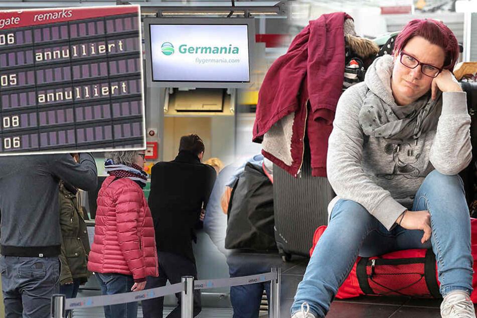 Dresden: Bruchlandung! Germania-Pleite trifft Dresdner Flughafen besonders hart