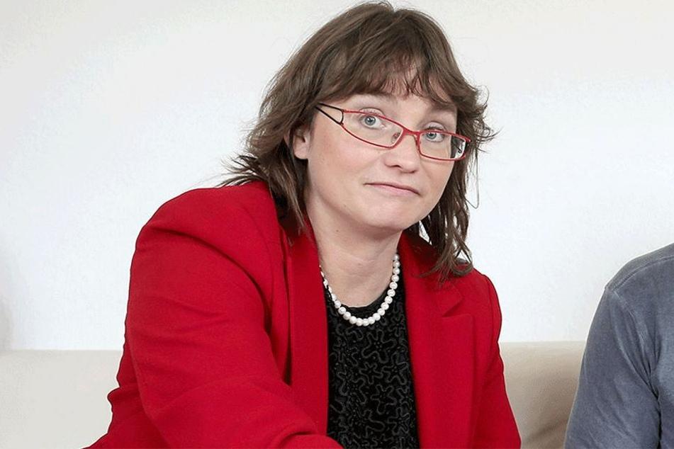 Silke Brewig-Lange (43), Vorsitzende des Stadtelternrates Chemnitz
