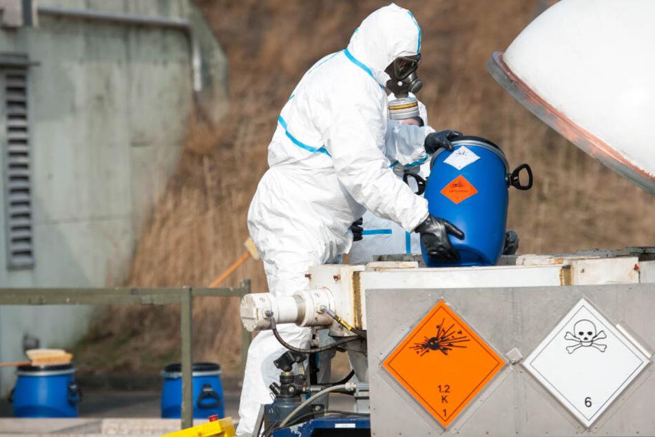 Mehr als 1400 Giftgas-Granaten in der Lüneburger Heide geborgen