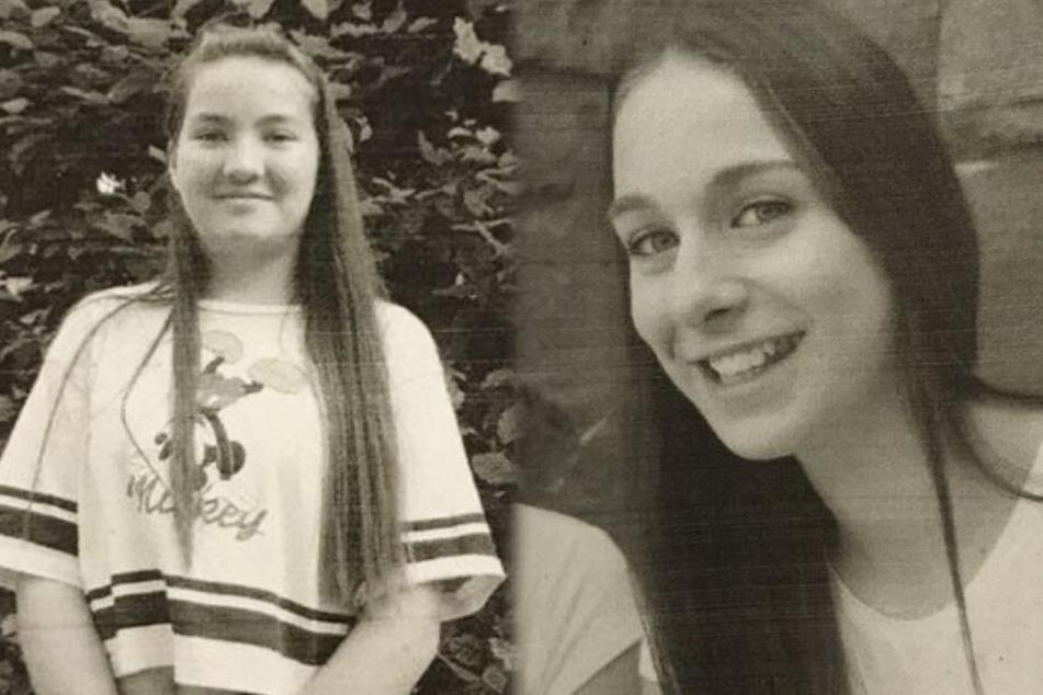 Die Montage zeigt links die vermisste Zwölfjährige, rechts die verschwundene 15-Jährige.