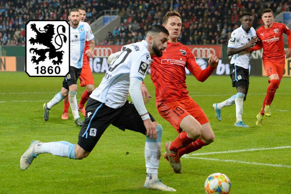Schon wieder! TSV 1860 München holt trotz Überzahl nur Remis gegen Ingolstadt