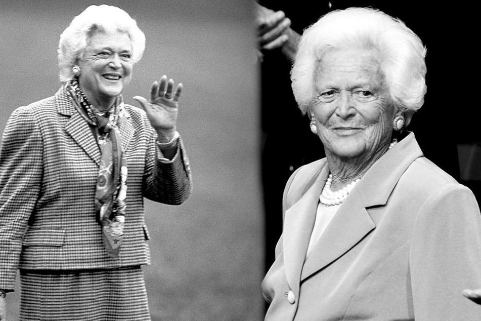 Frühere First Lady Barbara Bush mit 92 Jahren gestorben