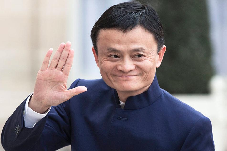 Jack Ma (54) gründete Alibaba im Jahr 1999.