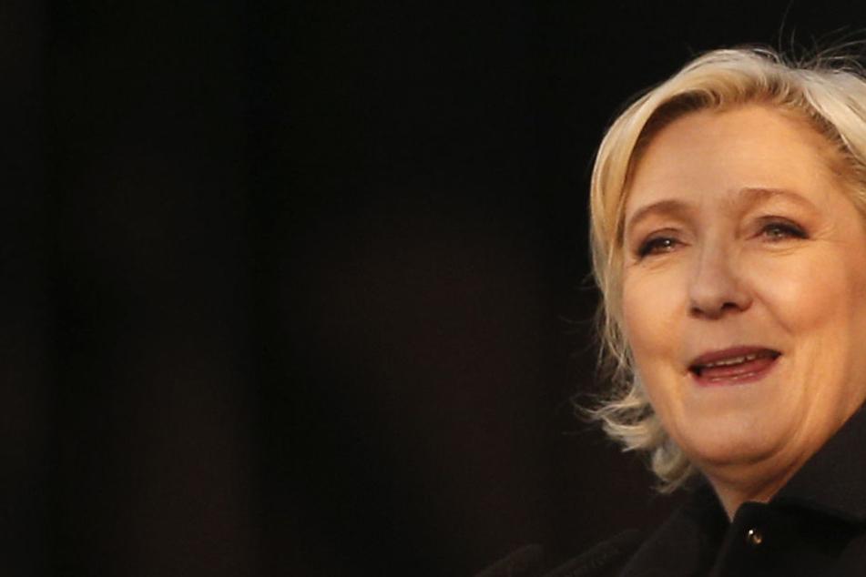 Macrons Gegnerin, die Rechtspopulistin Marine Le Pen.