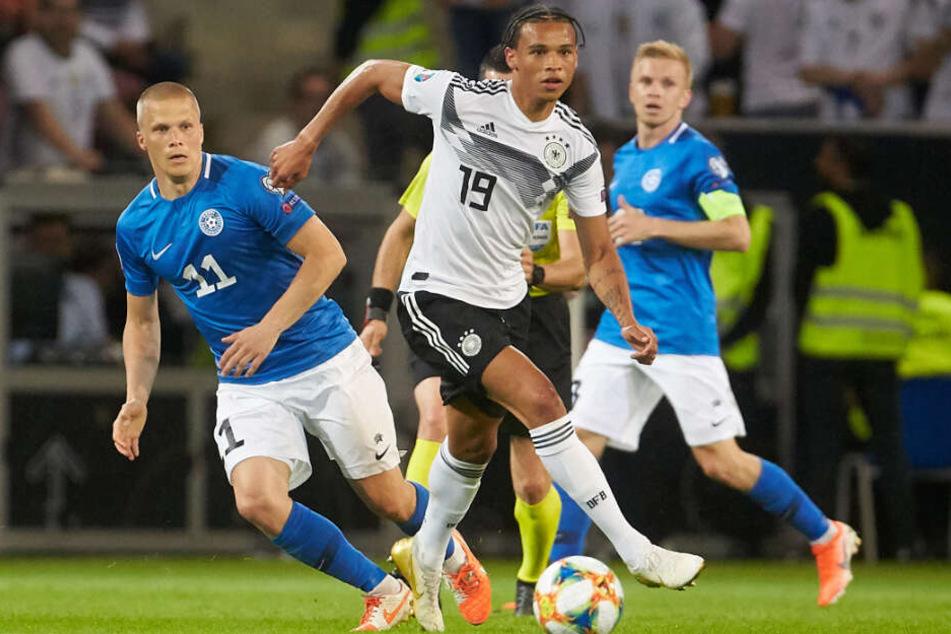 Leroy Sané soll einem Wechsel zum FC Bayern im Falle des Falles eine Absage erteilen wollen.