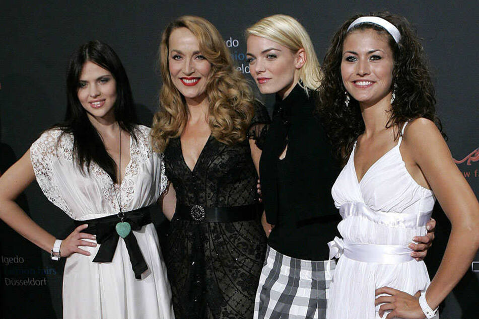 """Anni Wendler (zweite von rechts) nahm 2007 an der zweiten Staffel von """"Germany's next Topmodel"""" teil."""